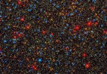 The Omega Centauri cluster. NASA, ESA, and the Hubble SM4 ERO Team